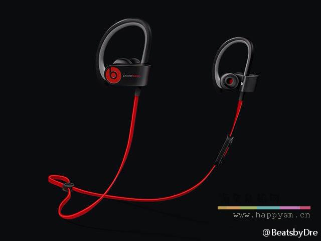 Powerbeats2 Wireless 黑色运动版 蓝