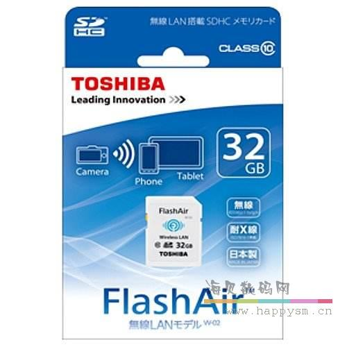 东芝 FlashAir 32G W-03 Wireless LAN