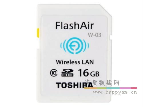 东芝 FlashAir 16G W-03 Wireless LAN