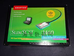 ADAPTEC 1680800 SLIMSCSI 1460B FAST SCSI PC CARD