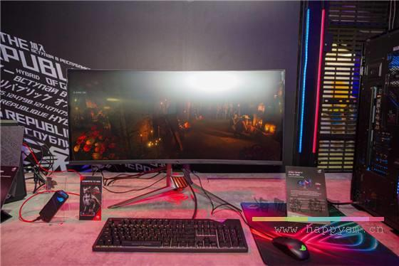 华硕 ROG Swift PG65UQ HDR1000 显示器
