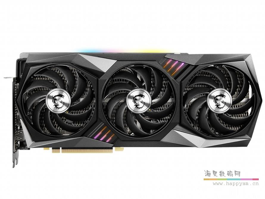 微星 Geforce RTX3080 GAMING X TRIO 10G GDDR 6X