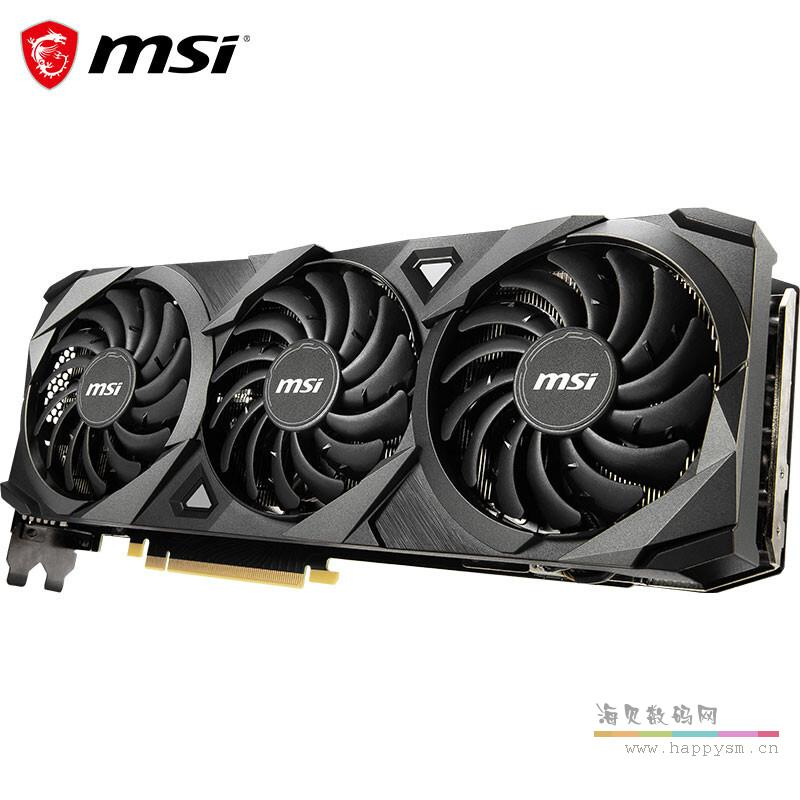 微星 Geforce RTX3080 万图师 VENTUS 3X 10G GDDR 6X